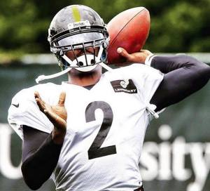 Vick is now #2 for the Pittsburgh Steelers