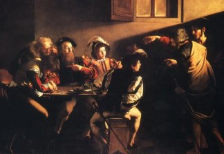 "Caravaggio ""The Calling of St. Matthew"""