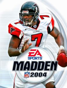Vick's Madden Cover