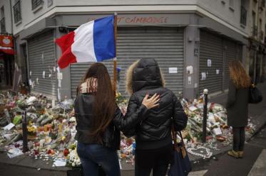 Grieving over Paris