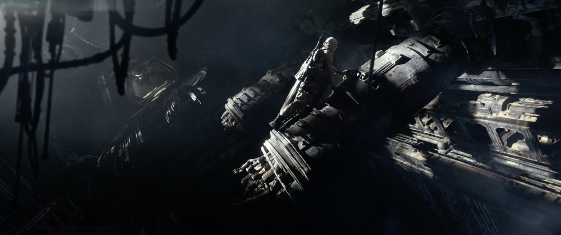 Rey inside star destroyer