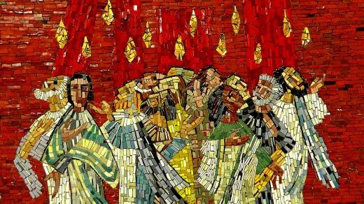 Pentecost-Mosaic