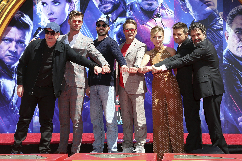 Avengers Walk of Fame