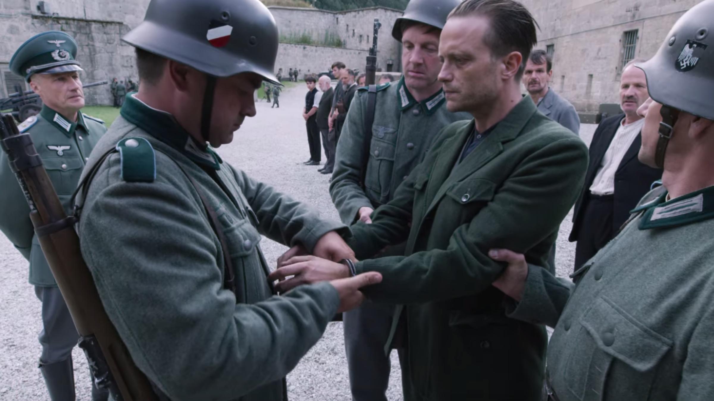 A Hidden Life Franz Arrest